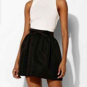Urban Outfitters Kimchi Blue Bow Nylon Mini Skirt